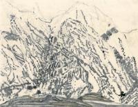 """Cabrales, Espana, ink, 9 x 11 1/2"""", 2016"""