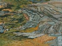 """Umpachene V, gouache, 12 1/4 x 16 1/4"""", 2015"""