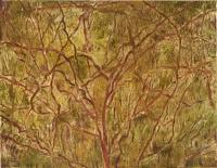 """Las Ramas, monotype, 8 3/4 x 11 1/2"""", 2001"""