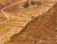 "De Mojacar, monotype, 8 3/4 x 11 1/2"", 2001"