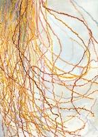 """Date Palm, gouache, 14 1/8 x 10 1/4"""", 2014"""