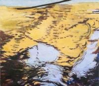 """Belle Creek IV, oil on linen, 19 x 22"""", 2005"""