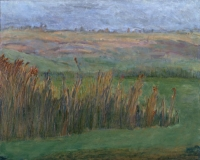 "Virginia Meadow, oil on panel, 16 x 20"", 1998"