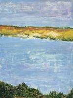 "Near Little Compton I, oil on panel, 12 x 9"", 2000"