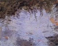 "Belle Creek II, monotype, 10 1/4 x 12 7/8"", 2003"