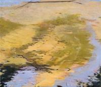"""Belle Creek III, oil on linen, 19 x 22"""", 2005"""
