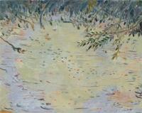 "Belle Creek IV, monotype, 10 1/4 x 12 7/8"", 2003"