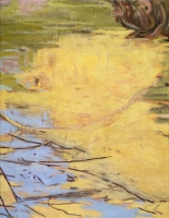 "Belle Creek II, oil on linen, 22 x 17"", 2005"
